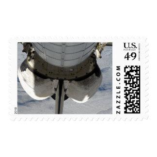 La porción en popa del esfuerzo 2 del timbres postales