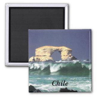 La Portada de Antofagasta 2 Inch Square Magnet