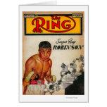 La portada de revista 2 del anillo felicitación