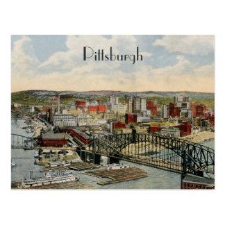 La postal 1931 del punto de Pittsburgh