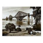 La postal, adelante tiende un puente sobre, Escoci