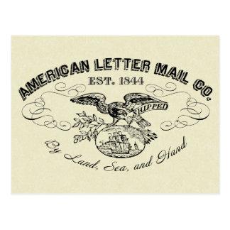 La postal American Letter Mail Company