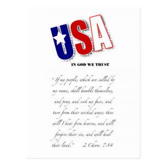¡La postal anima a otra que ruegue!