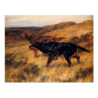 La postal con Thomas centella la pintura