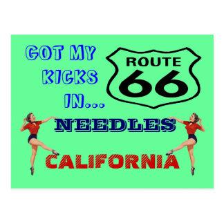 La postal consigue sus retrocesos en la ruta 66 -