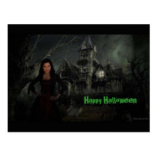 La postal de Halloween del empeine