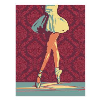 La postal de la bailarina