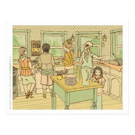 La postal de la cocina el |