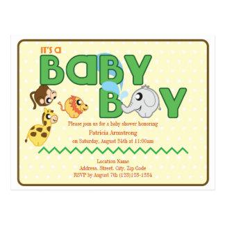 La postal de la fiesta de bienvenida al bebé del m