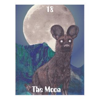 La postal de la luna