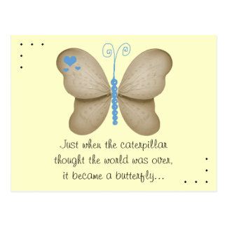 La postal de la mariposa