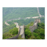 La postal de la pared china