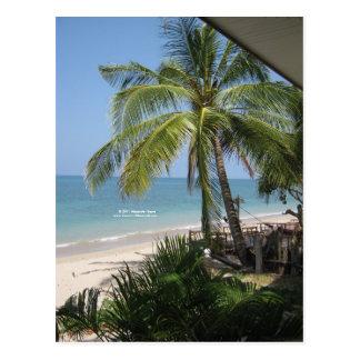 La postal de la playa