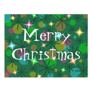 La postal de las Felices Navidad de las luces de n