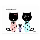La postal de los pijamas del gato