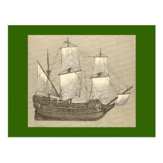 La postal de Mayflower