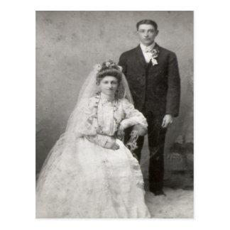 La postal del boda