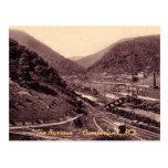 La postal del Cumberland del vintage de los estrec
