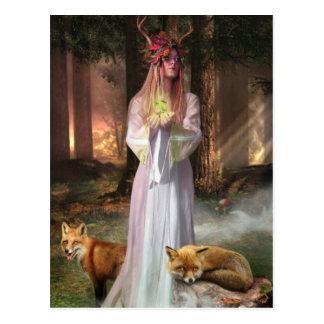 La postal del encargado del bosque