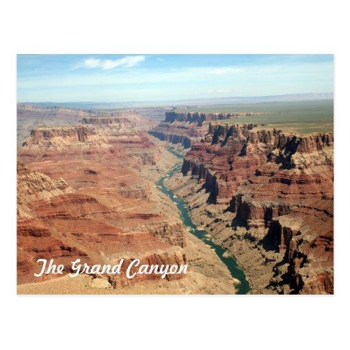 La postal del Gran Cañón