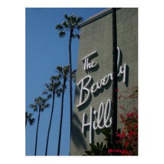 La postal del hotel de Beverly Hills