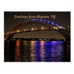 La postal del puente de Bayona