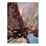 La postal del puente de colgante