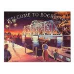 La postal del puente de oscilación de Hojack
