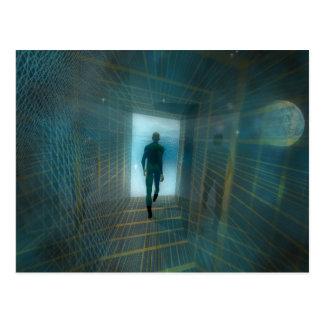 La postal del túnel