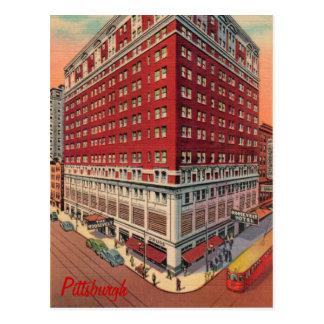 La postal del vintage del hotel de Roosevelt