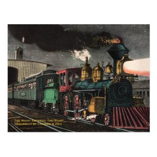 La postal expresa de la noche