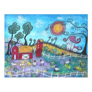 La postal imaginaria de la granja