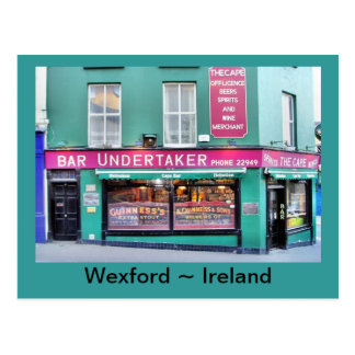 La postal irlandesa del Pub del cabo