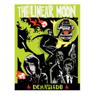 La postal linear de la luna
