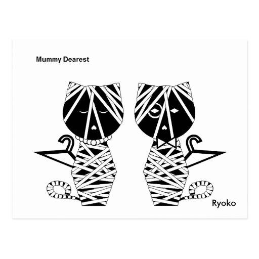 La postal más estimada de la momia