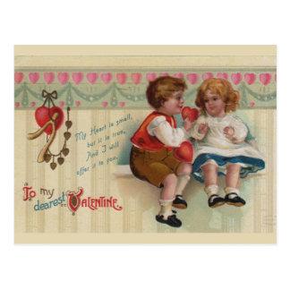 La postal más estimada del vintage de la tarjeta d