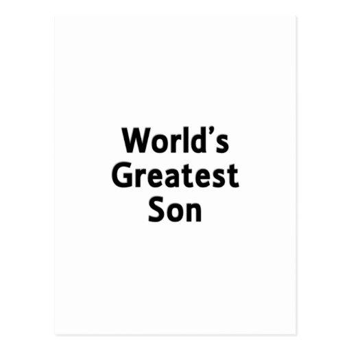 La postal más grande del hijo del mundo