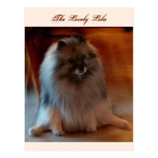 La postal preciosa de Lola
