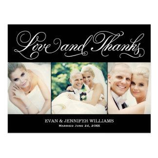 La postal que se casa del amor y de las gracias el