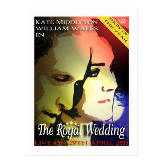 La postal real de Kate que se casa y de las volunt