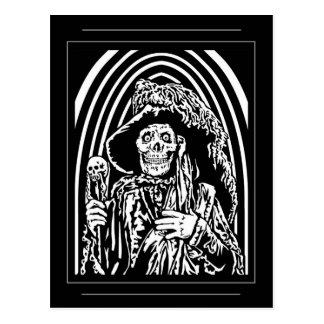 La postal roja de la muerte