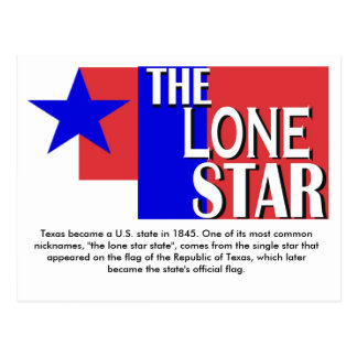 La postal solitaria de la estrella