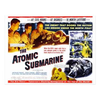 """"" La postal submarina atómica"