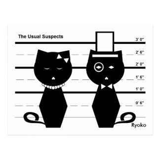 La postal usual de los sospechosos