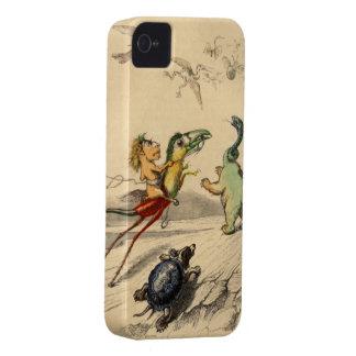 La Poursuite (la caza) iPhone 4 Case-Mate Protector