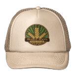 La pradera arraiga el gorra del camionero del logo