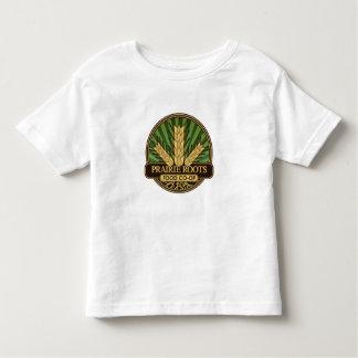 La pradera arraiga la camiseta del logotipo del