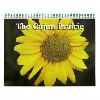 La pradera de Cajun Calendario