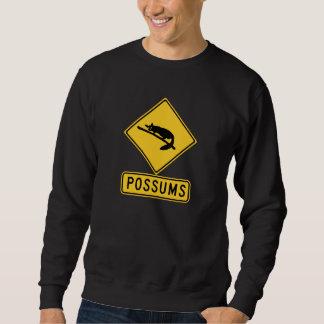 La precaución con los oposums 2, trafica la señal jersey