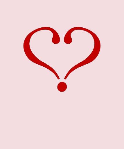 La pregunta del corazón libre o enamorado camiseta